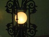 Обрамление фонаря из чугуна